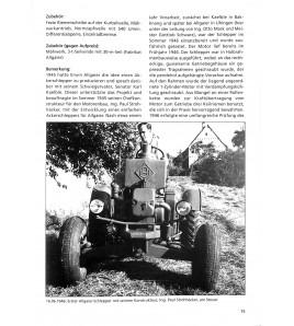 Allgaier-Porsche Diesel, Datenbuch voorkant