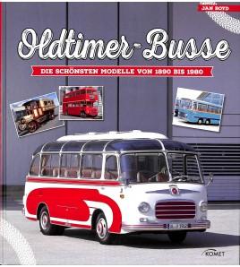 Oldtimer-Busse  Vom Pferde-Omnibus bis zum modernen Reisebus Voorkant