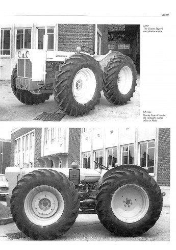 Ford Tractor Conversions Voorkant