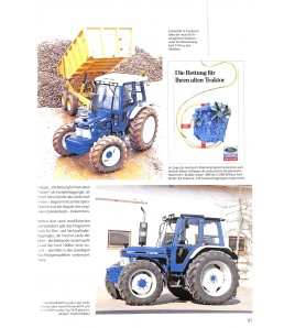 Ford Traktoren Serie 10 bis New Holland 1981-1995