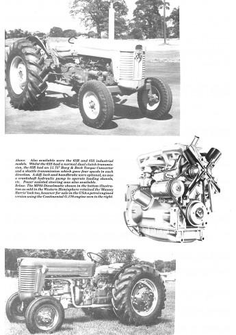 Massey-Ferguson 1958-1982 Voorkant