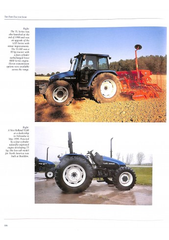 The Ford Tractor Story part Two: Basildon to New Holland 1964-1999 Voorkant