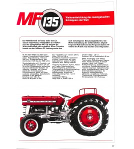 Massey Ferguson Prospekte der 100ER-Serie