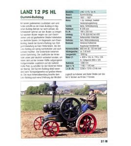 Lanz Bulldog Typenkompass 1921-1960