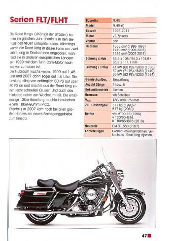 Typenkompass Harley Davidson & Buell seit 1945 Voorkant