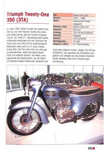 Triumph Motorräder seit 1945 Voorkant
