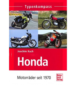 Honda-Motorrader seit 1970 Voorkant