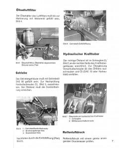 Bedienungsanleitung Porsche-Diesel Standard Star 219, 238, Super Export, 329 ( Super 339 )