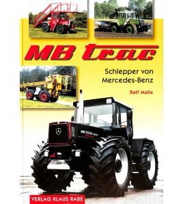 MB-trac Schlepper von Mercedes-Benz Voorkant