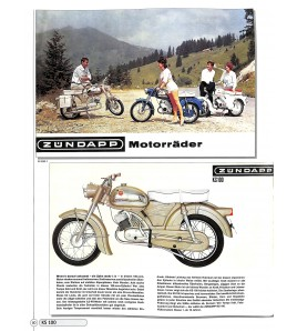 Zündapp Prospekte  - Motorrad & Roller 1947-1984 Voorkant