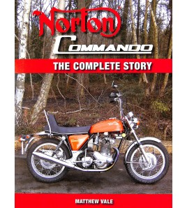 Norton Commando, The complete story Voorkant