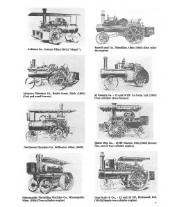 Agriculture tractor 1855-1950