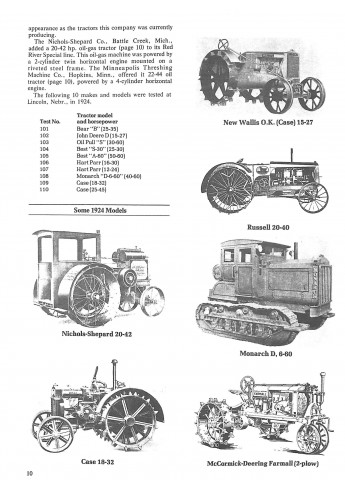 The Agricultural Tractor 1855 - 1950 Voorkant