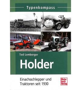Typenkompass Holder Einachsschlepper und Traktoren seit 1930 Voorkant
