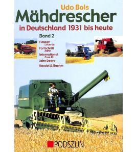 Mahdrescher in Deutschland 1931 bis heute 2 Voorkant