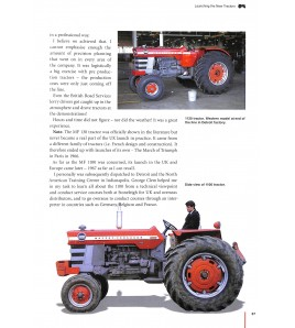 A world wide guide to Massey Ferguson 100 and 1000 tractors 1964-1988 Voorkant