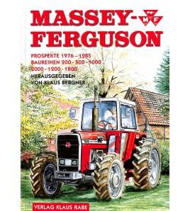 Massey Ferguson, Prospekte 1976-1985