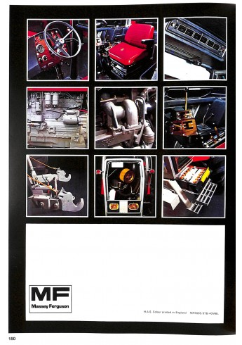 Massey Ferguson, Prospekte 1976-1985 Voorkant