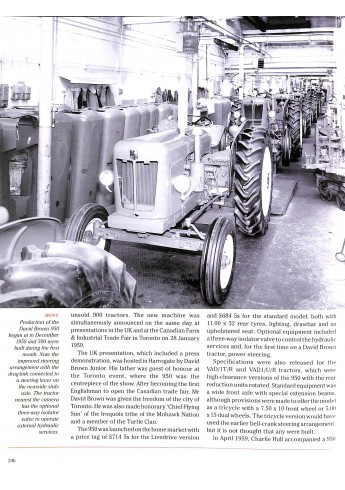 The David Brown Tractor Story, Part Two Voorkant