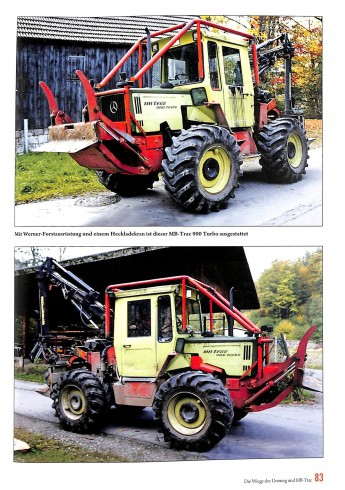 Jahrbuch Unimog & MB-trac 2018 Voorkant