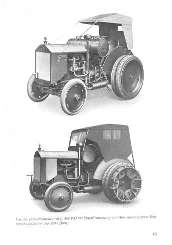 Hanomag, Alle Traktoren Voorkant