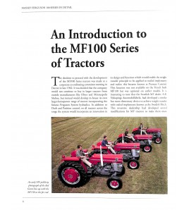 Massey Ferguson 100 series IN Detail