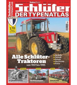 Typenkatalog Schlüter /  Traktor Classic Special Voorkant
