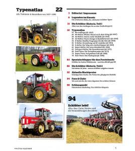 Typenkatalog Schlüter /  Traktor Classic Special