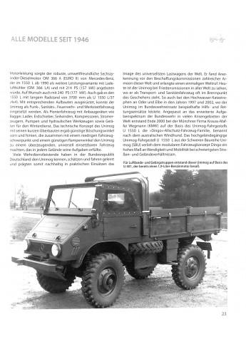 Unimog - Alle Typen, Alle Modelle, Alle Daten seit 1946 Voorkant