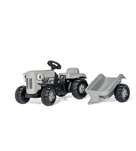 Rolly Toys Little Grey Fergie met Kid Trailer