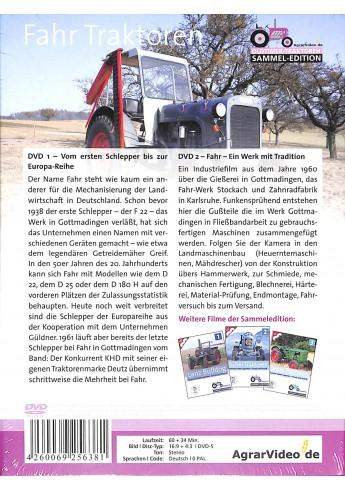 Fahr Traktoren Deutsche Traktor Legenden - Einsatz und Technik