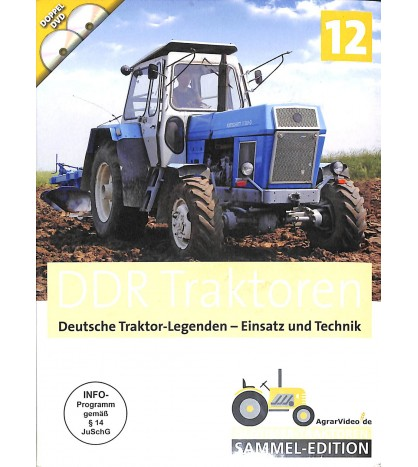 DDR Traktoren Deutsche TRaktor legenden - Einsatz und Technik
