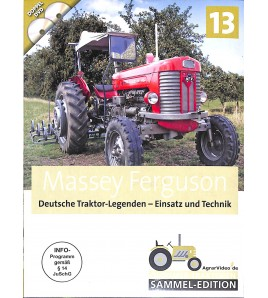 Massey Ferguson Deutsche Traktor Legenden - Einsatz und Technik