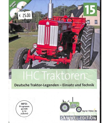 IHC Traktoren Deutsche TRaktor Legenden - Einsatz und Technik