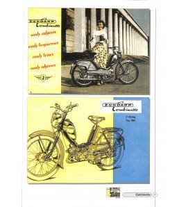 Zündapp Prospekte Moped, Mokick, Kleinkraftrad & Leichtkraftrad 1953-84 Voorkant