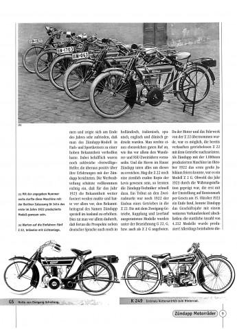 Zündapp Motorrader 1921-1984 Voorkant