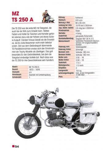 MZ - Motorräder seit 1950 Voorkant