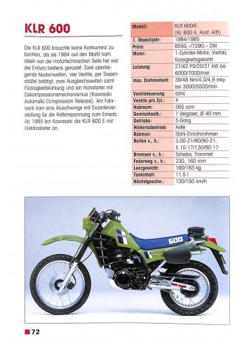 Kawasaki - Motorräder seit 1965 Voorkant