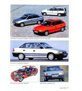 Opel Fahrzeug-Chronik Band 3 1991-2012