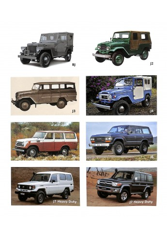 Toyota, Legende Land Cruiser