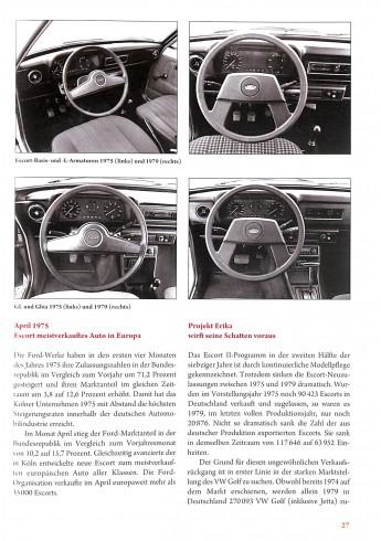 Ford Escort Typen Technik Tuning