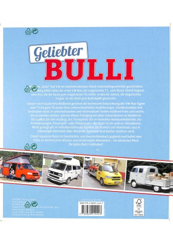 Geliebter Bulli  Das große Bulli-Buch für Fans