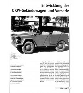 DKW Munga Geländewagen, 1956-1968