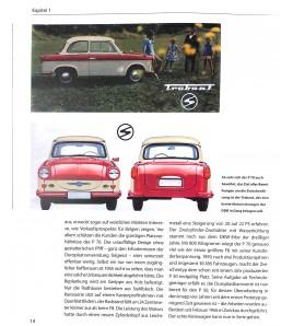 Autos, die noch Typen waren. Trabant alle Modelle