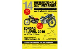 14e Internationale Oldtimerbeurs te Budel op zondag 14 april 2019